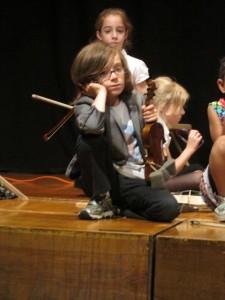 Legoman Violin