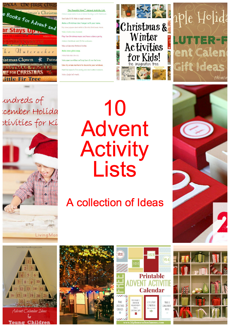 Advent Calendar Ideas What To Put In : Awesome diy advent calendar ideas days of