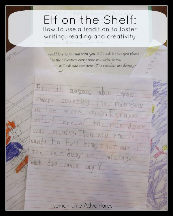 Letter To Write From Elf To Child