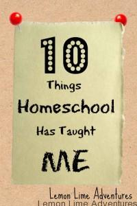 Homeschool Learning