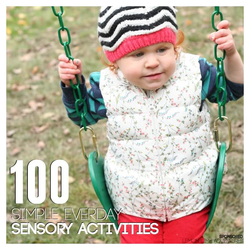 100 Simple Everyday Sensory Activities for Home or School