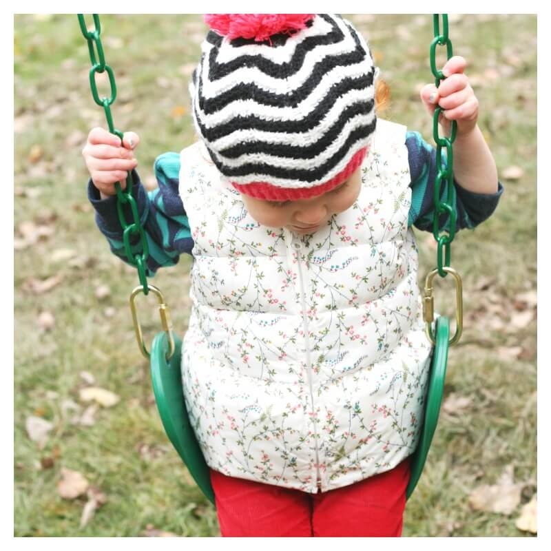 Vestibular Sensory Activities on a Swing Set