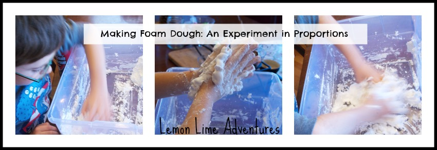 Foam Dough Experiment
