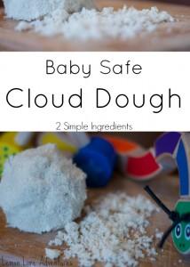 Baby Safe Cloud Dough