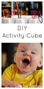 DIY Activity Cube
