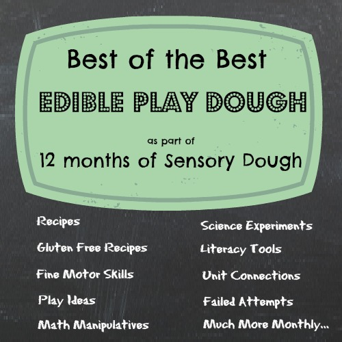 Best of the Best Edible Play Dough