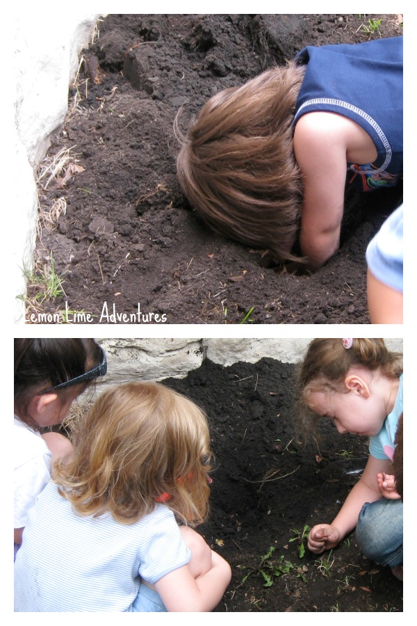 Proprioceptive Sensory Benefits of Gardening with Kids