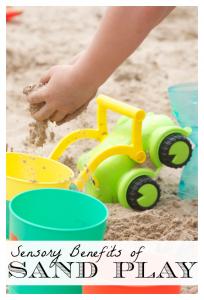 Sensory Benefits of Sand Play