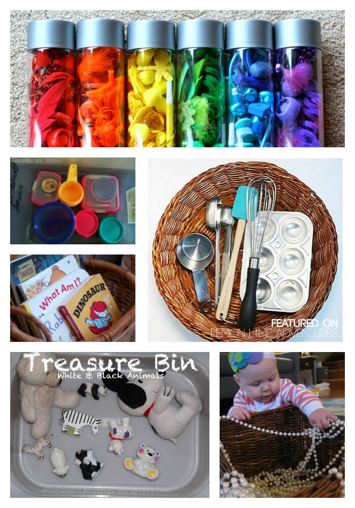 Busy basket ideas for baby.