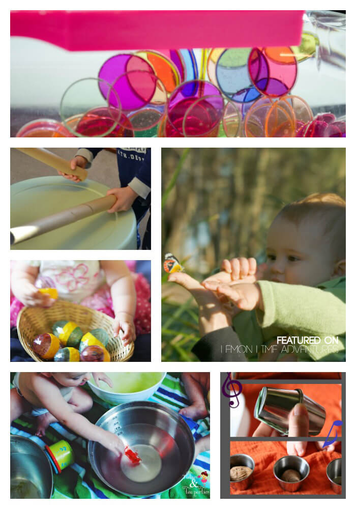 Music, math, and science activities for baby