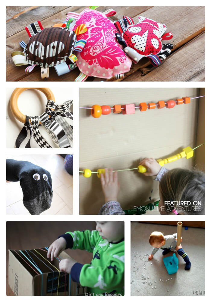 DIY toys to make for your baby.