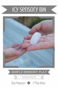 Simple Sensory Play | Icy Sensory Bin