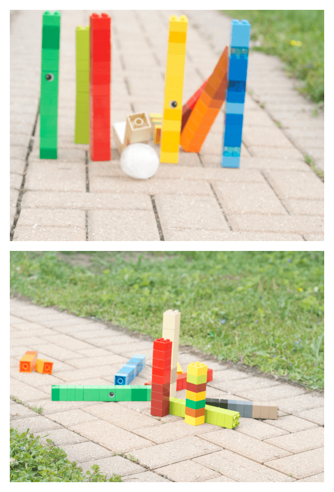 Lego Ice Bowling Summer Fun