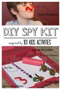 DIY Spy Kit | 101 Kids Activities