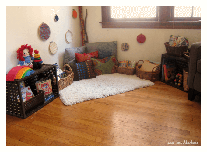 10 inspiring toddler reading spaces for Kids reading corner ideas