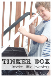 Inspire Little Inventors | Upcycled Tinker Box