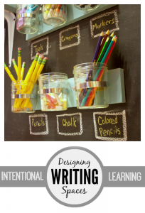 Intentional Learning Spaces | Writing
