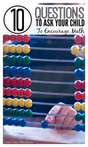 10 Questions To Encourage Math Thinking
