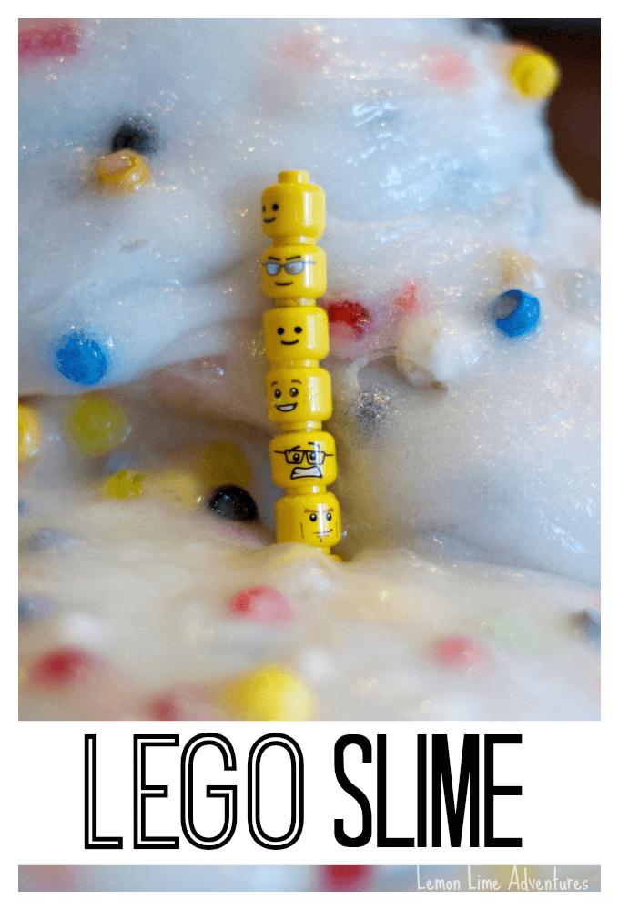Lego Slime Recipe