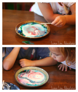 Magic Milk for Toddlers and Preschoolers with Palmolive Dish Soap  #Palmolive25Ways #cbias