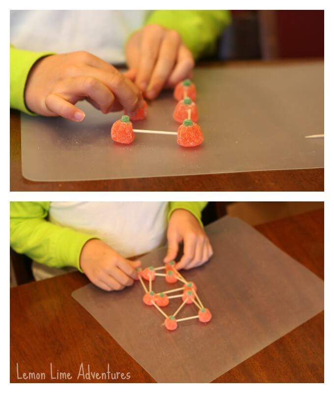 Building Towers with toothpicks