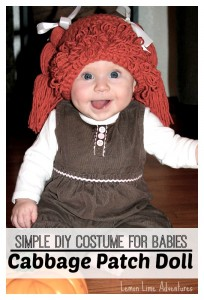 Simple Cabbage Patch Doll Costume