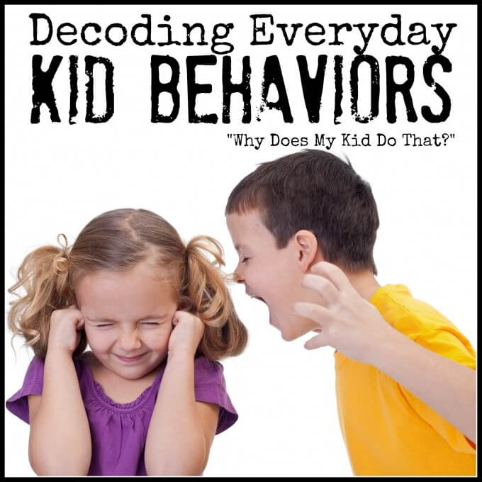 Decoding Kid Behaviors