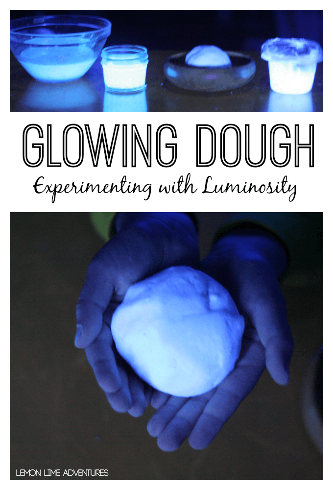 Glowing Dough Experiment