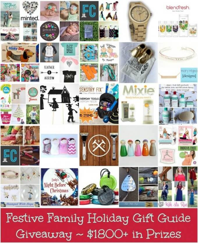 Holiday Giveaway Gift Guide