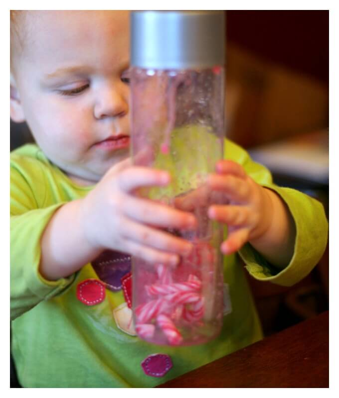 Christmas Science Experiment for Toddlers