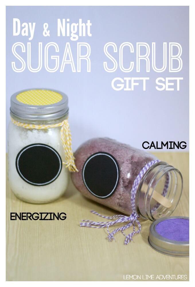 Day and Night Sugar Scrub Gift Set