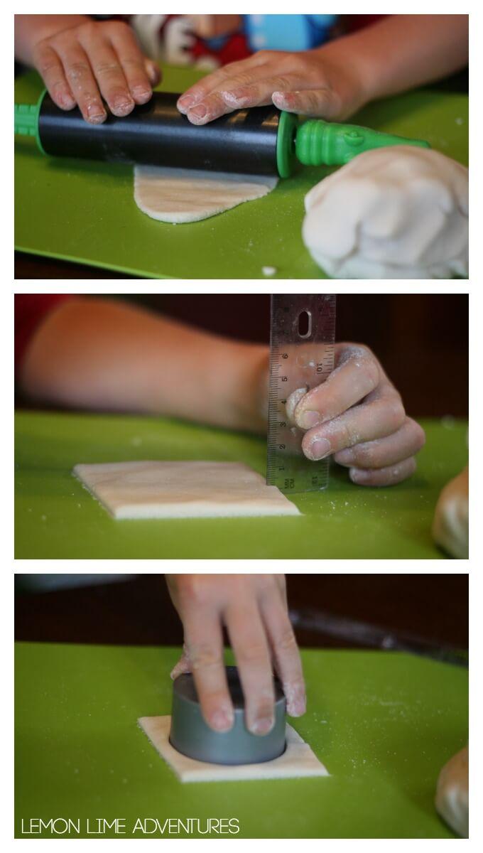 how thick should salt dough be