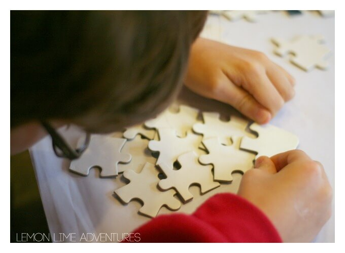 Creating Puzzle Ornaments