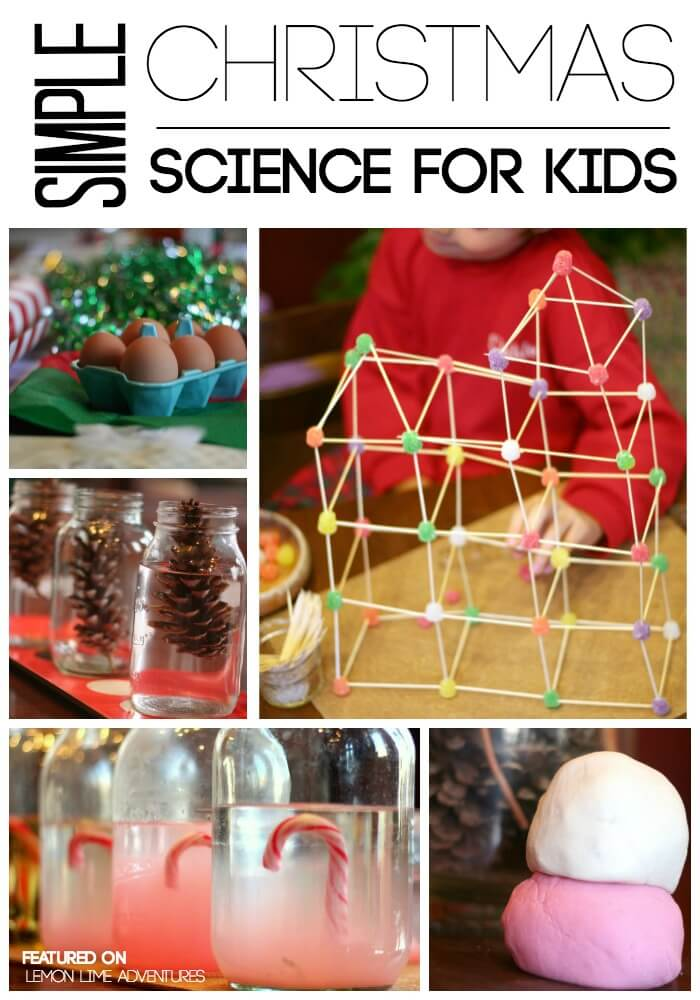 Simple Christmas Science Activities for Kids