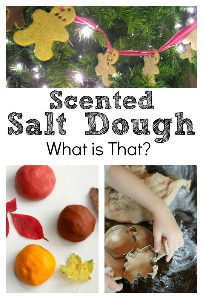 What is Scented Salt Dough