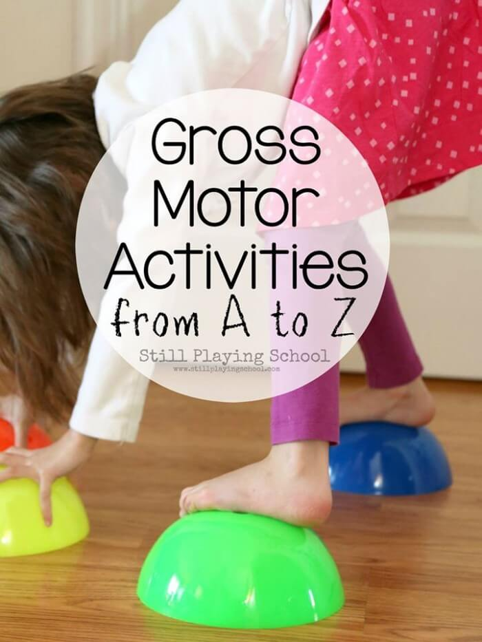 Gross motor play