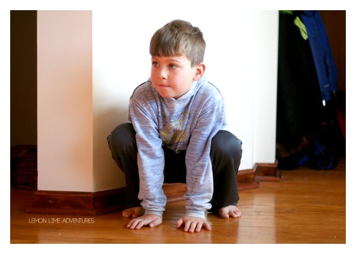 Frog Jumps Animal Exercises