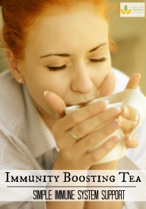 Immunity boosting Tea With Theives Essential Oil