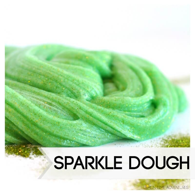 Sparkle Dough with Glitter