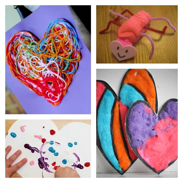 Toddler Art Ideas for Valentines Day