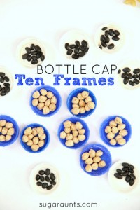 ten-frame-math-first-grade-bottle-caps