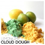 Lemon Lime Cloud Dough Recipes