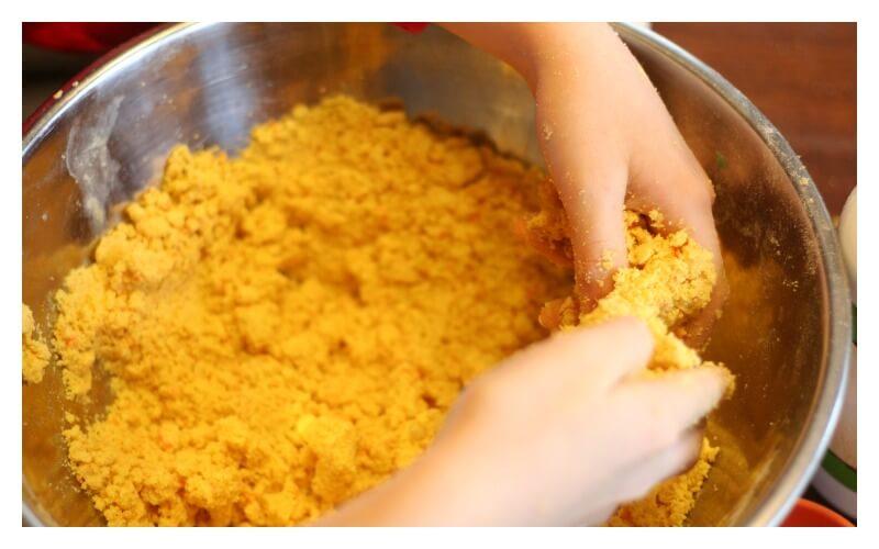 Lemon Lime Mixing dough