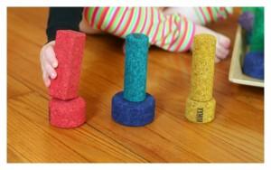 Developmental Toddler Block Play Ideas with KORXX