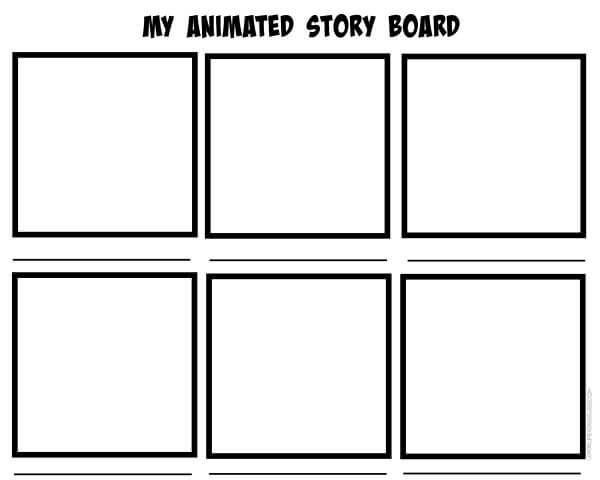 7 tips for creating stop motion animation with kids for Interactive storyboard template