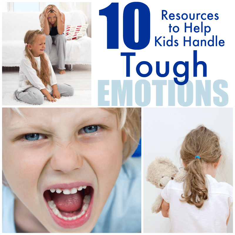 Does your child struggle with negative emotions? These resources were so helpful for our family!