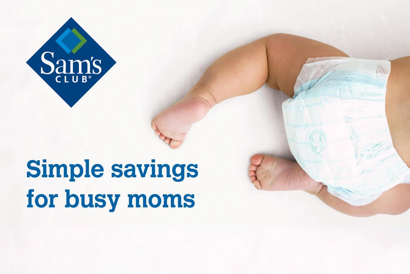 Sams Club busy Moms Savings