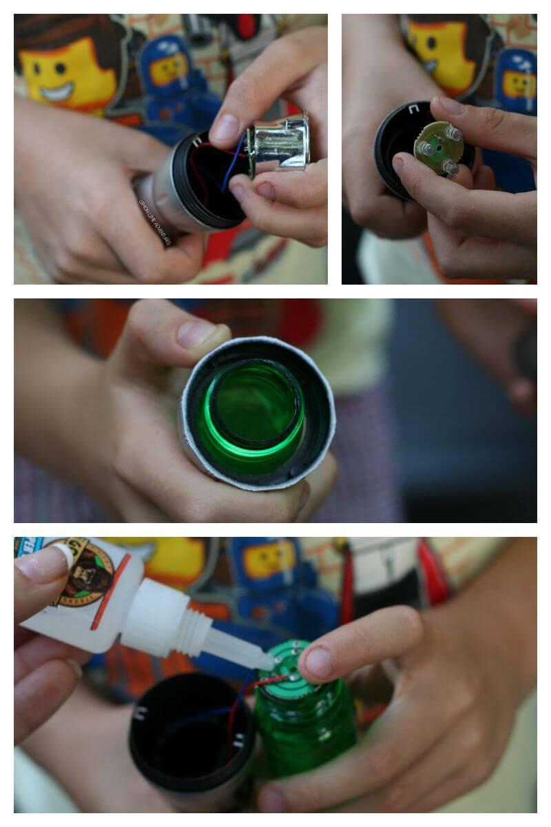 Making a DIY Lightsaber