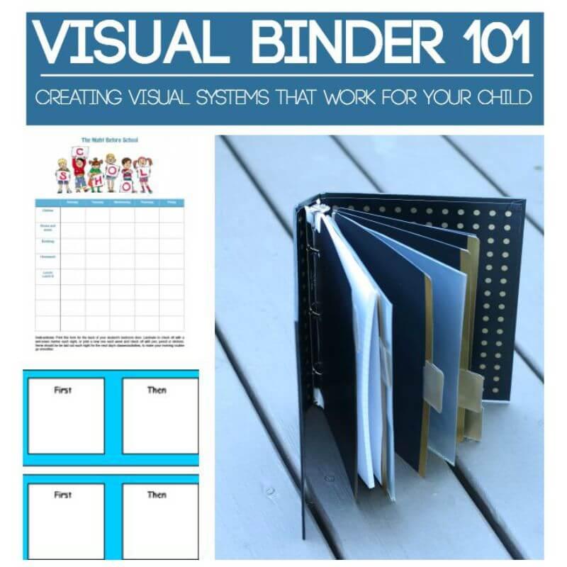 Square Visual Binder