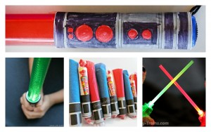 18 Totally Awesome DIY Lightsabers